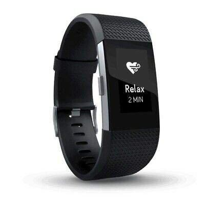 AU119 • Buy FITBIT Charge 2 Fitness Tracker Watch With Milanese Link Strap *AS NEW*