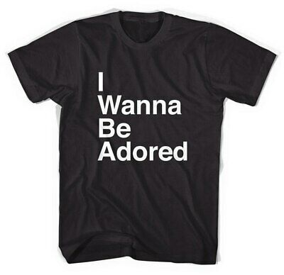 The Stone Roses I Wanna Be Adored Text Unisex T-Shirt All Sizes Cotton Tee • 12.93£
