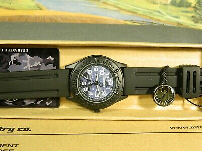 Men's Watch Infantry Watch Co. IN-041-BLU-R  INFANTRY  BLUE CAMO, RUBBER BAND • 5.16£