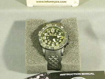 Men's Watch Infantry Watch Co. IF-006-Y-R  INFILTRATOR  YELLOW, RUBBER BAND • 5.16£