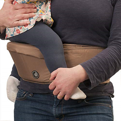 Hippychick Hipseat Baby Carrier | Lightweight Adjustable Back Supporting Waist • 48.05£