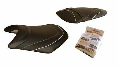 $139.99 • Buy Kawasaki ZX6R Ninja 2005-2006 Top Sellerie France Seat Cover Anti-Slip HSD1818