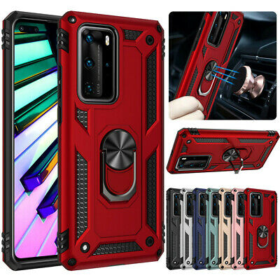 Hybrid Shockproof Cover Hard Armor Case For Huawei P30 Pro P40 Lite Y7 Y6 2019 • 2.75£