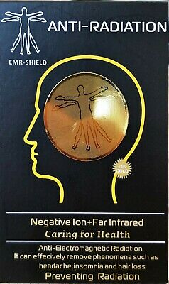 EMF Protection Stickers, EMR Shield Anti-Radiation Mobile Phone • 3.49£