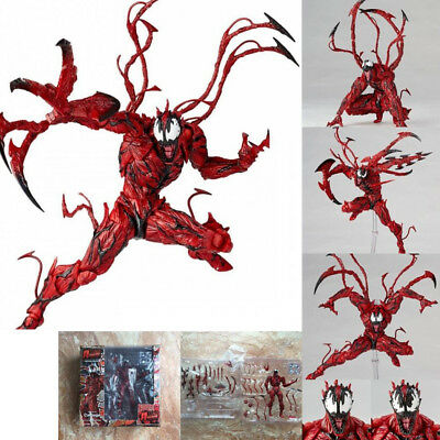 PVC Yamaguchi Marvel Carnage Red Venom Action Figure Model Toys Gifts Collection • 17.66£