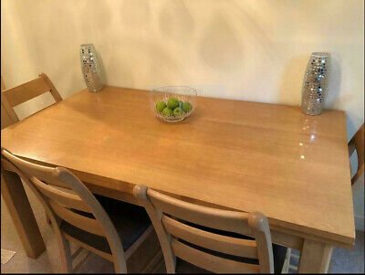 Oak Table Marks And Spencer 6 Chairs • 98£