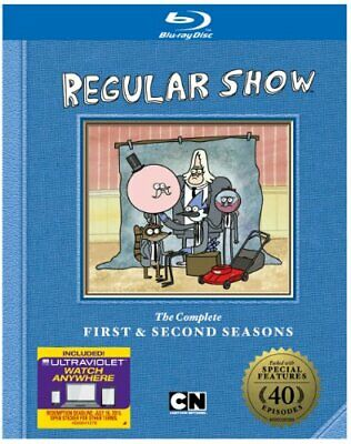 Regular Show: The Complete First & Second Seasons (DVD,2013) (trnbrt355320) • 23.67£