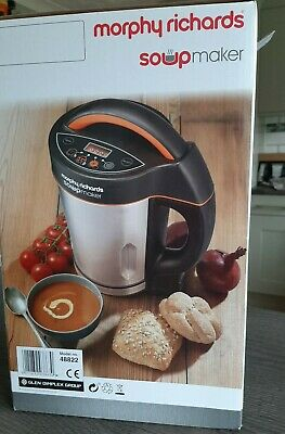 Morphy Richards 48822 1.6L Soup And Smoothy Maker • 48£