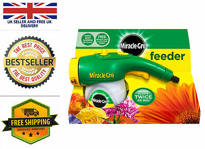 Miracle-Gro Feeder Filled With All Purpose Soluble Plant Food UK Stock FAST&FREE • 13.99£