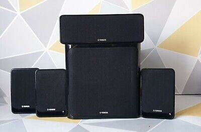 Yamaha NS-SWP20/NS-B20/NS-C20 Speaker System With 4 Speakers. Tested, Great Cond • 75£