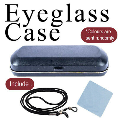 AU11.89 • Buy Eye Glasses Case Hard Box Sunglasses Container Student Protector Holder