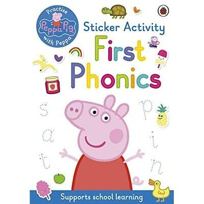 Peppa Pig: First Phonics: Sticker Activity Book - Paperback / Softback NEW Pig, • 6.90£