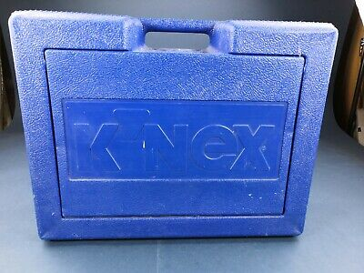 Knex Vintage Set - Boxed With Blue Carry Case - Construction Toy • 20£