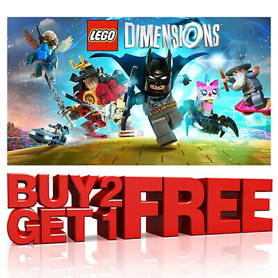 £9.97 • Buy Lego Dimensions Figures Vehicles Tags Portals Game - Ps4 Ps3 Xbox One 360 Wii U