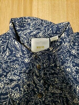 $ CDN19.99 • Buy Maeve Button Up Shirt Sz Small/6 *anthropologie