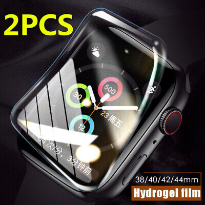 $ CDN4.56 • Buy 2PCS Hydrogel Screen Protector For Apple Watch Series SE 6 5 4 3 For IWatch 44MM