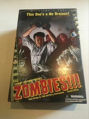 Zombies Board Game Twilight Creations Inc (English) 2006 Directors Cut (New) • 7£
