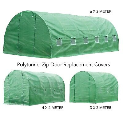 Replacement Cover For Polytunnel Greenhouse Pollytunnel 3m 4m 6m Heavy Duty  • 74.99£