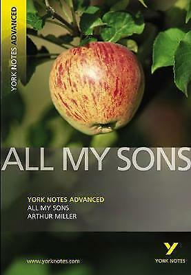 All My Sons: York Notes Advanced By Arthur Miller (Paperback, 2007) • 2.20£