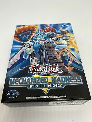 YuGiOh - Mechanized Mechanised Madness Structure Deck - New & Sealed • 8£