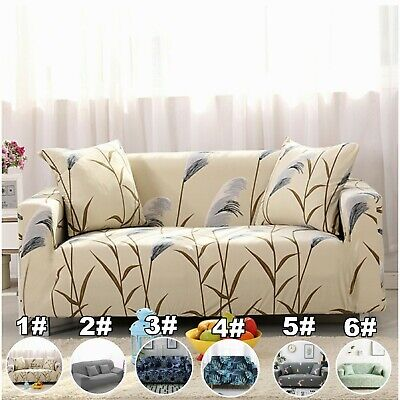 AU28.99 • Buy 1/2/3/4 Seater Slipcover Stretch Fit Lounge Couch Sofa Cover Recliner Protector