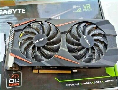 $ CDN177.63 • Buy GIGABYTE NVIDIA GeForce GTX 1060 Windforce 3GB GDDR5 Graphics Card