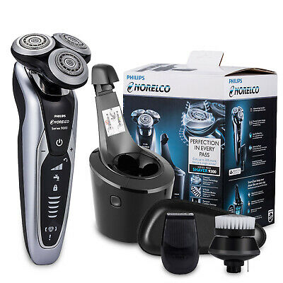 AU219.57 • Buy Philips Shaver Series 9000 S9311 Wet And Dry Electric Shaver  SmartClean PLUS
