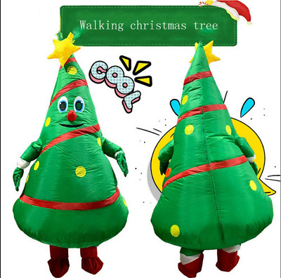 Halloween Funny Inflatable Christmas Tree Costume Party Cosplay Fancy Dress UK • 18.99£