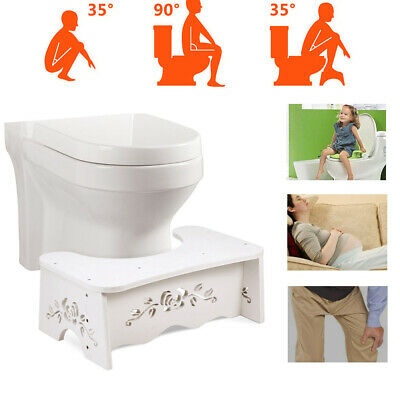 £10.05 • Buy Toilet Bathroom Aid Squatty Step Foot Stool For Potty Help Prevent Constipation