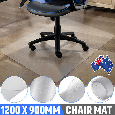AU27.06 • Buy Ship Carpet Floor Office Computer Work Chair Mat Protector Useful 1200 X 900mm