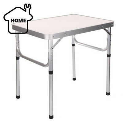 Portable Folding Table Step Up Stool Camping Outdoor Picnic Party BBQ • 17.49£