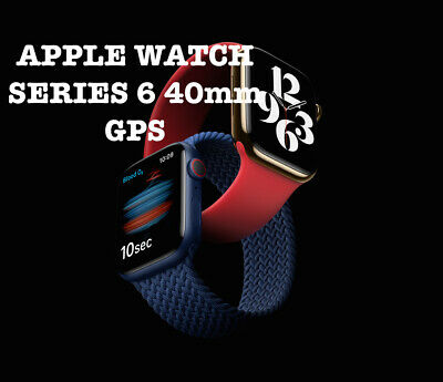 AU589 • Buy BRAND NEW Apple Watch SERIES 6 40mm GPS Space Grey / Blue / White  [AUS STOCK]