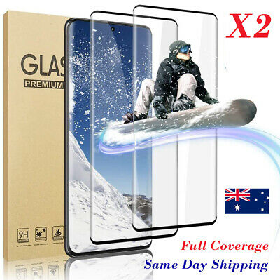 AU8.45 • Buy Tempered Glass Screen Protector For Samsung Galaxy S20 Plus Ultra S10 Note 20 10