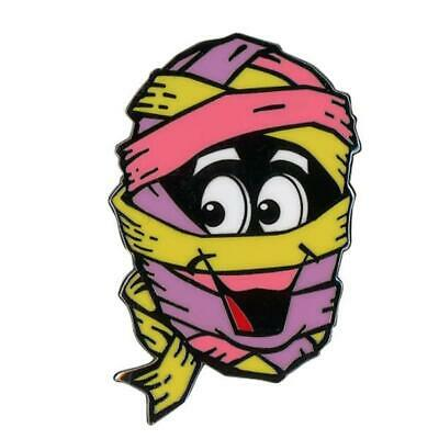 Yummy Mummy Enamel Pin Breakfast Cereal Monster Horror Gothic Gift Collectible • 11.96£