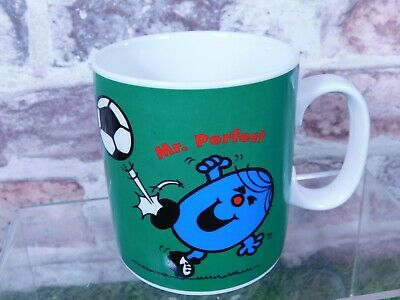 £4.99 • Buy Mr Perfect Star Player ~ Football ~ Roger Hargreaves Ceramic Cup 2002