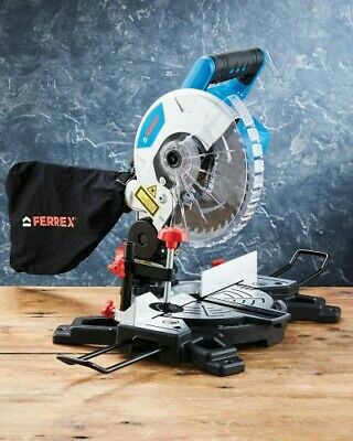 18V Cordless Mitre Circular Saw Portable Carry Handle 210MM Laser Guide   • 199.99£