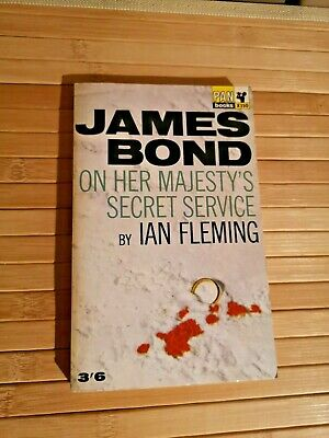 On Her Majesty's Secret Service By Ian Fleming 1965 PAN James Bond 007 - Vintage • 19.99£