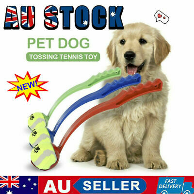 AU11.66 • Buy Dog Ball Thrower Launcher Pet Interactive Toys Easy Grabber Long Handle Outdoor~