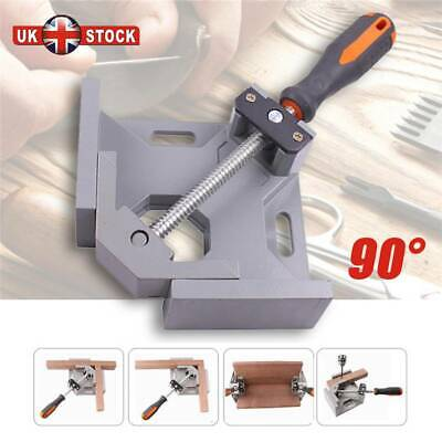 90° Degree Corner Clamp Right Angle Clamps Woodworking Vice Wood Metal Weld  Jig • 10.99£
