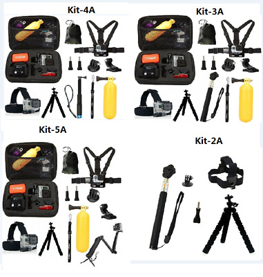 $ CDN23.92 • Buy GoPro HERO7 Black Action Camera Accessories Kit For Go Pro Hero 6/5/4 New Model