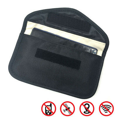 Large Size Cellphone RF GPS Signal Blocker Anti-Radiation Shield Pouch Case  HR • 4.26£