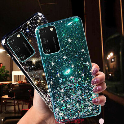 Bling Glitter Case For Huawei P30 Pro P30 Lite Gel Silicone Clear Phone Cover • 2.99£