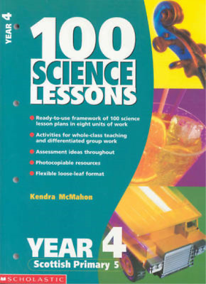 100 Science Lessons For Year 4 (100 Science Lessons), McMahon, Kendra, Used; Goo • 3.48£