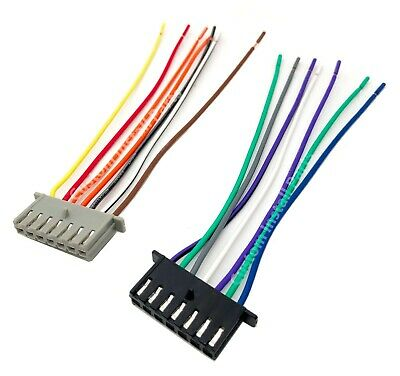 $5.99 • Buy Factory Stock Stereo Radio OEM Reverse Male Standard Wire Wiring Harness Plug