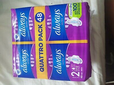 £8.30 • Buy Always Ultra Quattro Pack 48 Long Pads -