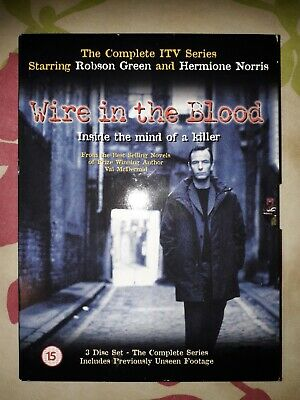 £2.59 • Buy Wire In The Blood Complete First Series Robson Green - Region Free 0 Dvd