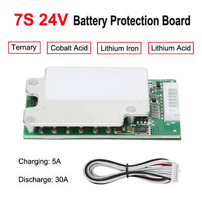 AU15.49 • Buy 7S DC 24V BMS Li-ion Lithium Battery Charging Protection Board PCB Board 18650