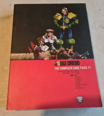Judge Dredd Complete Case Files 11 • 12.50£
