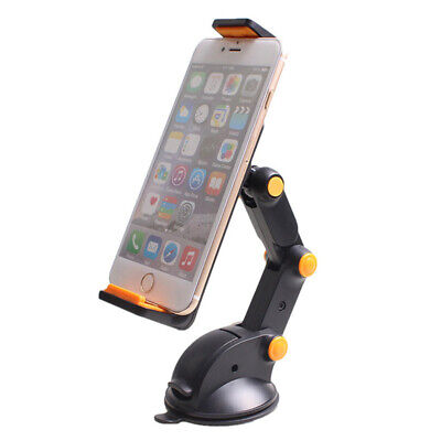 Car GPS Windshield Mount Holder For IPhone 7-11  IPad Mini 2/3/4/Air Tablet 360° • 5.59£