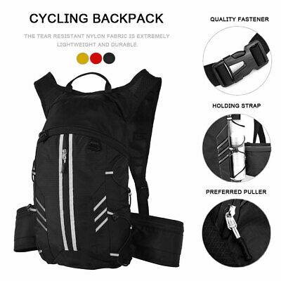 AU21.99 • Buy Hydration Pack + 2L Water Bladder Bag Backpack Cycling Bicycle Hiking Camping